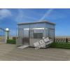 HLW-JCZC06型不锈钢安检室 钢结构安检站