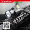 自动步枪战术照明灯+激光瞄准器
