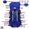 地震救援背囊、消防携行护具、携行背囊