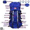 地震救援背囊、火焰蓝消防携行护具、携行背囊