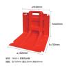 市政应急红色ABS挡水板防汛防洪板塑料防洪板